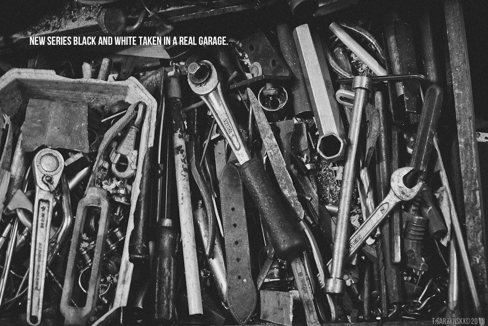 Le vrai garage. (Série on brznsk.tumblr.com)