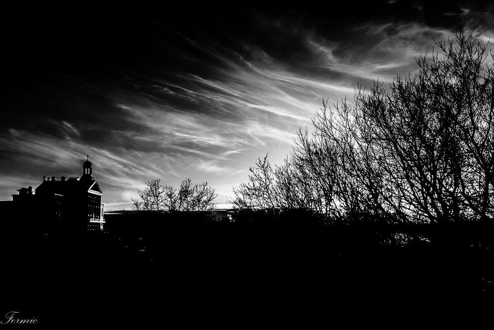 Contraste au crépuscule