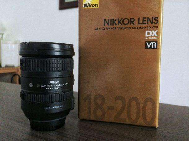 AF-S DX VR Zoom-Nikkor 18-200mm f/3.5-5.6G IF-ED