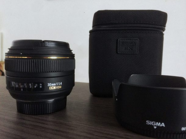 Sigma 30mm f/1.4 DC EX HSM