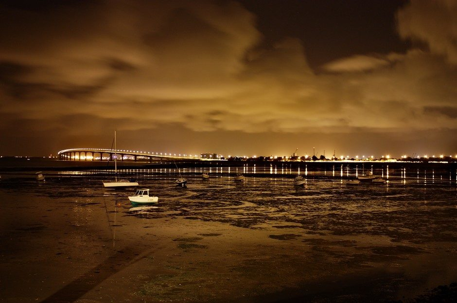 Le pont de l'île de Ré.