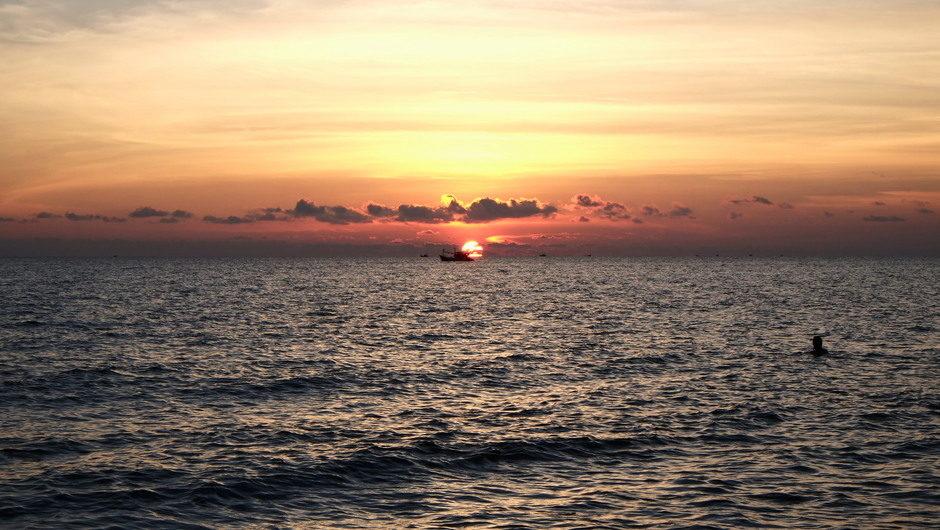 Sun Set at Phu Quoc