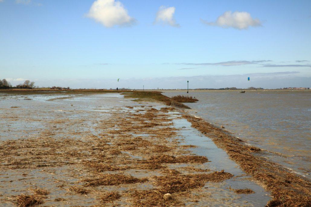 Grande marée du 21 mars sur le Cap Hornu