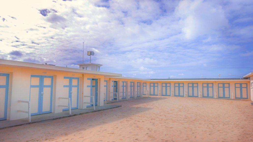 Les cabines de Plage