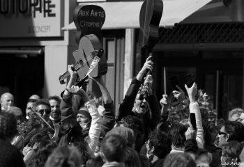Flashmob à Gap 13 mars 2021