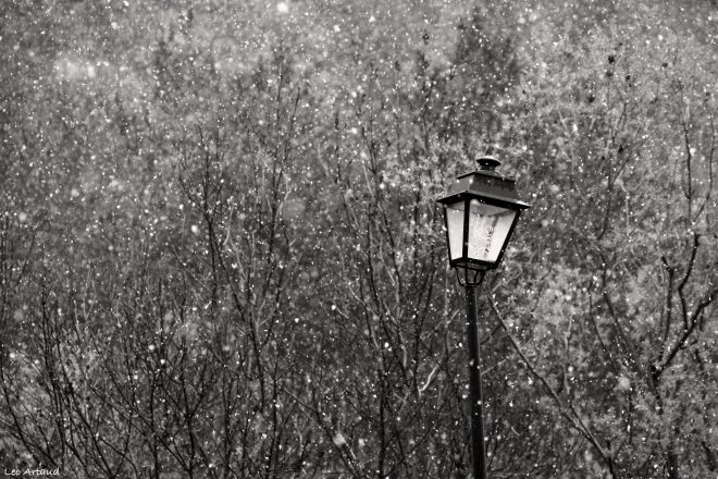 expression: to have the sad snow.