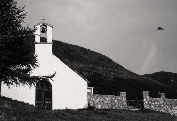 Chapel of Sauvas (Hautes_Alpes/France)