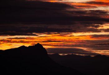 Vue du Col de Gleize (Hautes-Alpes/Gap/France)