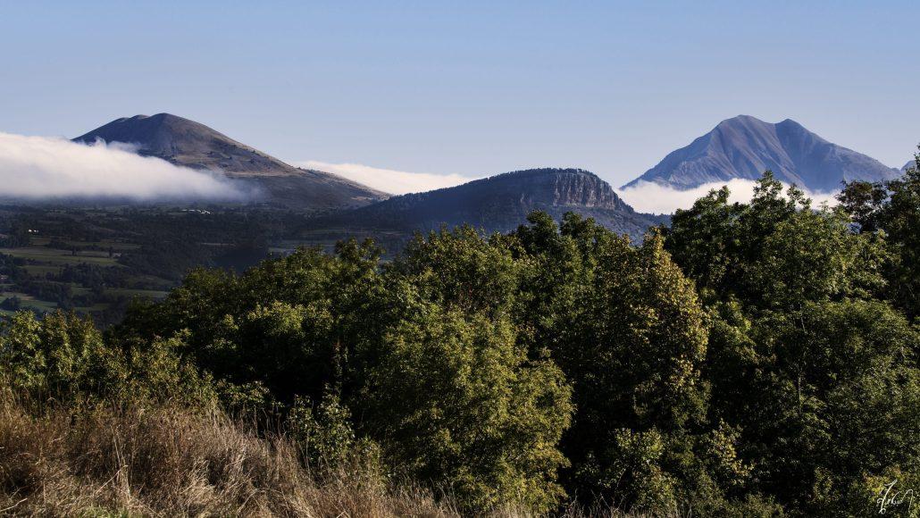 Paysage gapençais (Hautes-Alpes/France)