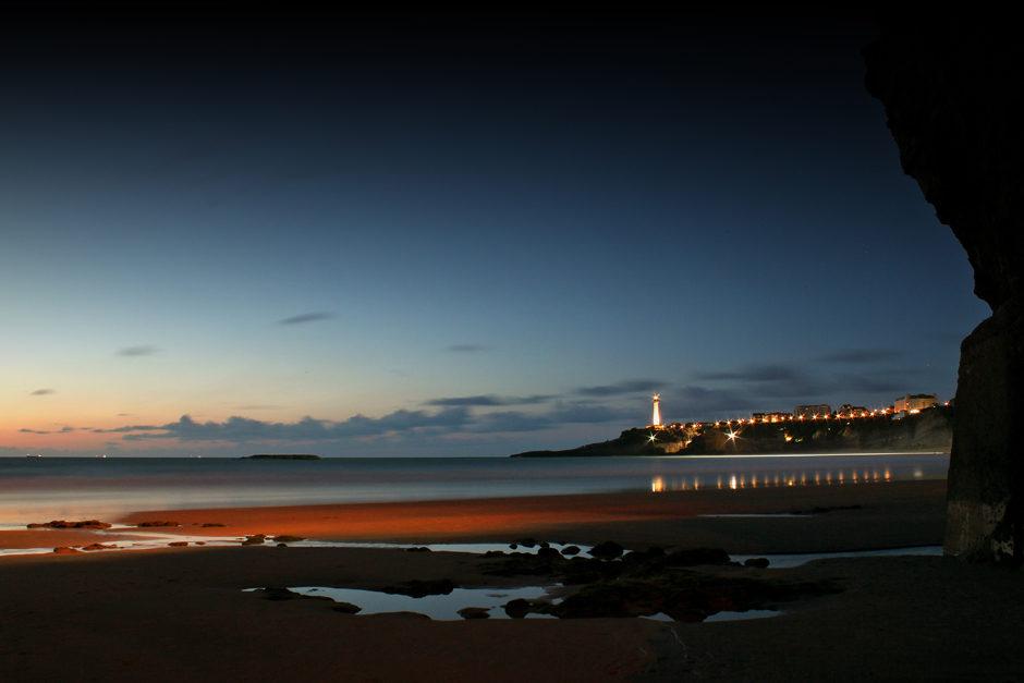 One night in Biarritz