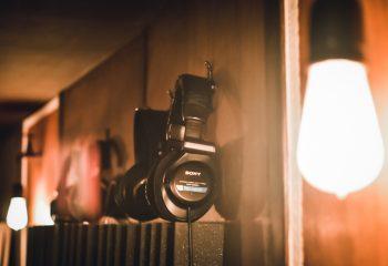 - Headphones -
