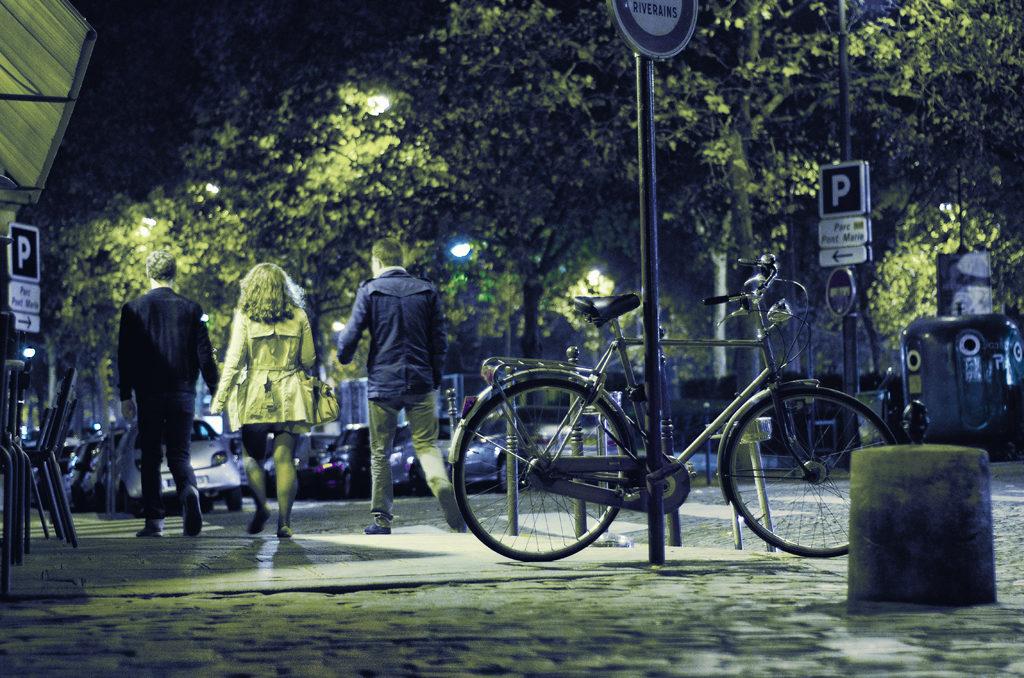 Le vélo de la rue des Barres