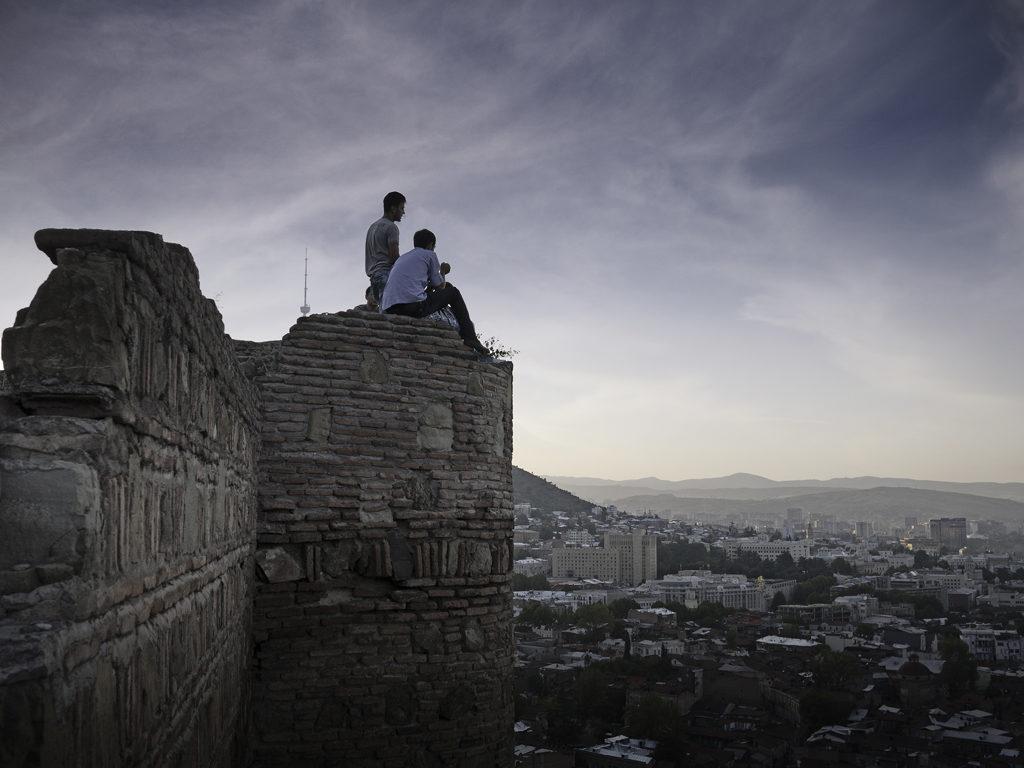 Sunset on Tbilisi