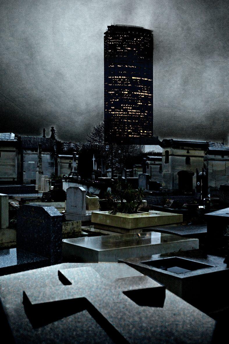Paris, le cimetière du Montparnasse