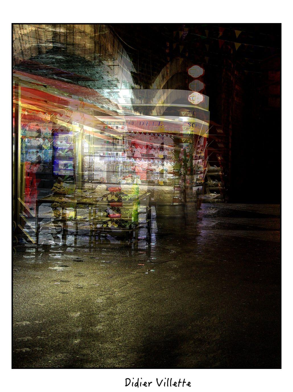 Une ville la nuit …