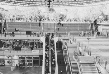 les Halles de Paris un dimanche d'octobre 2021