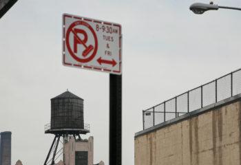 Citerne+panneau New-York-USA