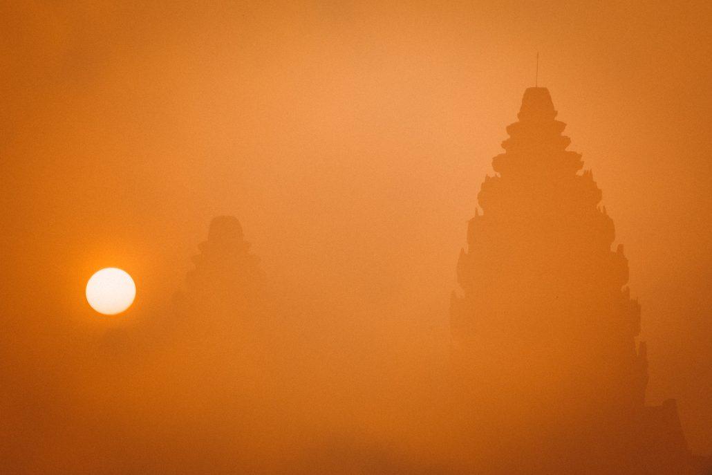 Angkor au réveil.