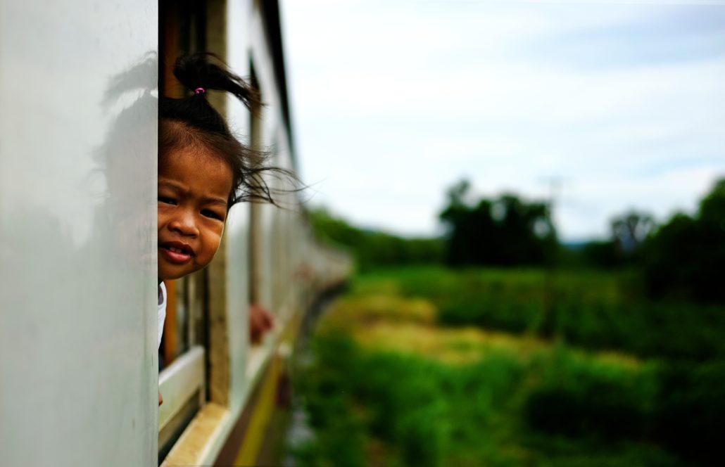 La petite fille du train