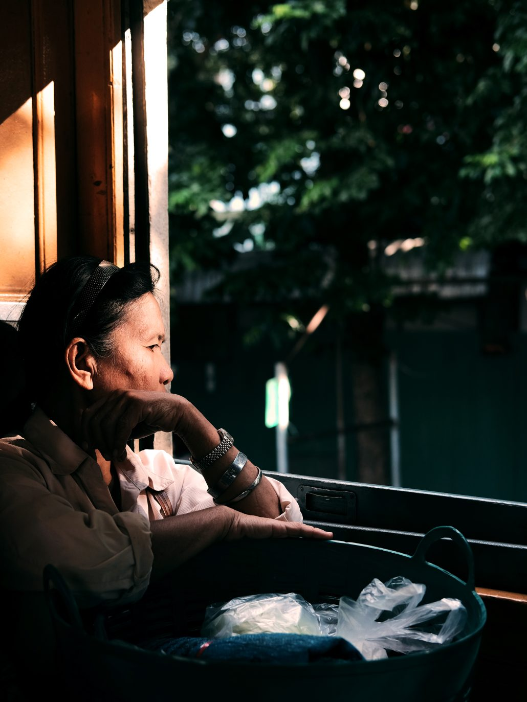 La femme du train