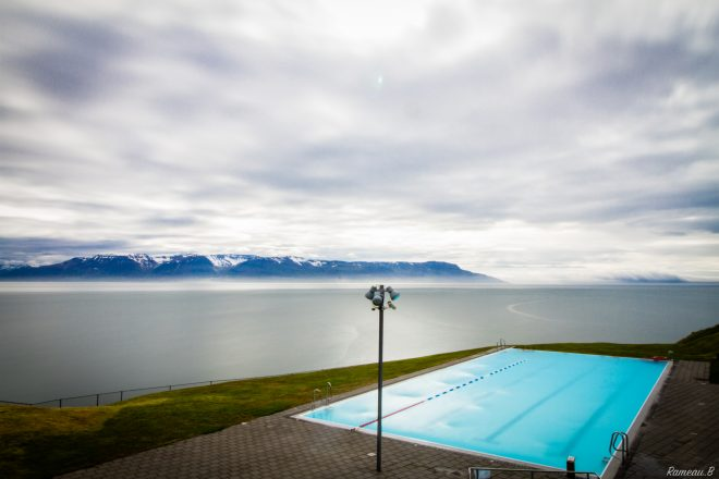Swim comme un  Islandais