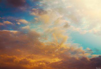 Tableau dans le ciel