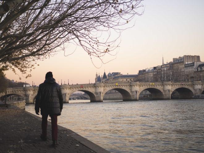 Marcheur du Pont-neuf