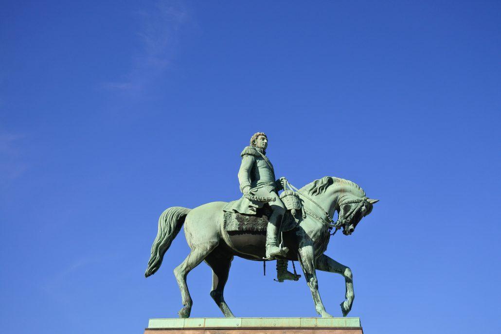 Statue scandinave.