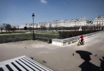 Les tuileries à vélo