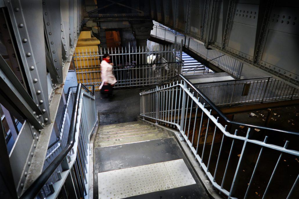 Métro Stanilgrad Paris