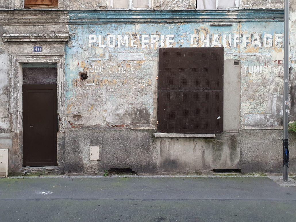 Façade Nord – Les murs de Garibaldi