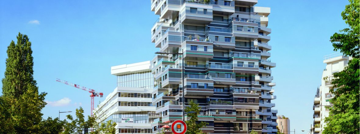Paysages d'architecture : une promenade à Issy par Raymond Depardon