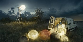 To the Moon and Back - Erik Johansson