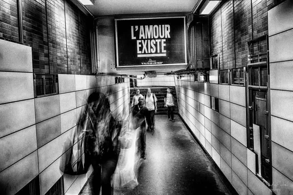 L'amour existe –  © Fabien Perrot