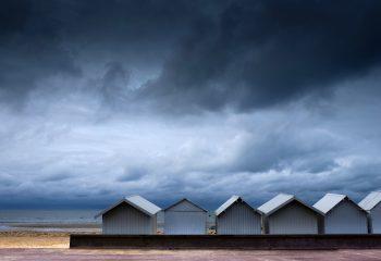 Les cabines de la plage en septembre - © Olivier14