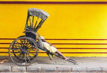 Rickshaw-wallah - © Catherine Le Scolan