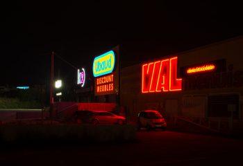Une nuit au mall