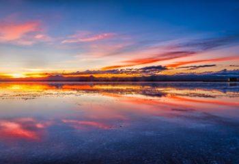 Salar d'Uyuni au petit matin