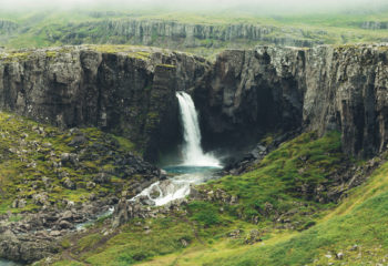 Foss, Austfirðir.