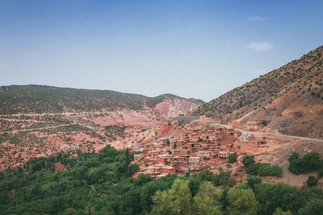 Village sur L'Atlas