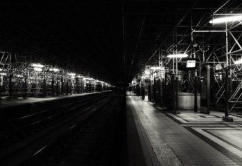 Lignes. Gare Saint Jean. Bordeaux.
