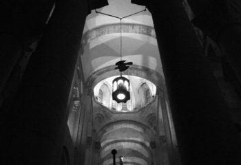 Silhouette. Saint Jacques de Compostelle