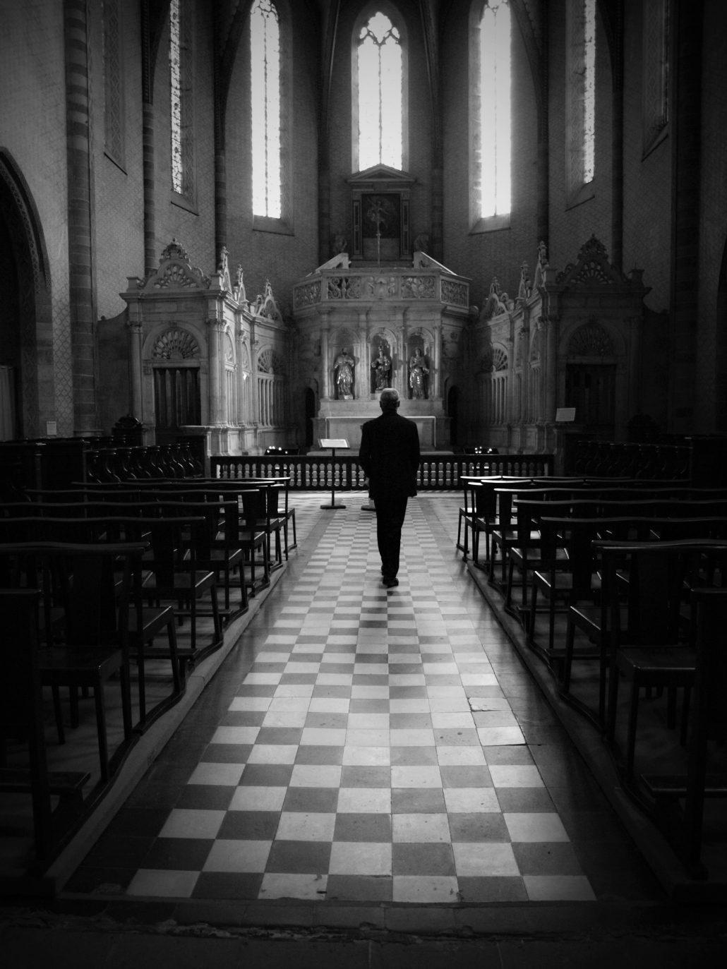 La bénédiction du bouquet. Saint Jacques de Compostelle