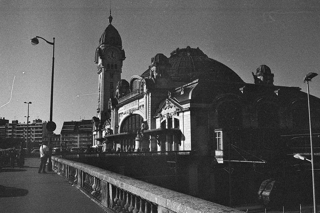 Argentique : gare de Limoges