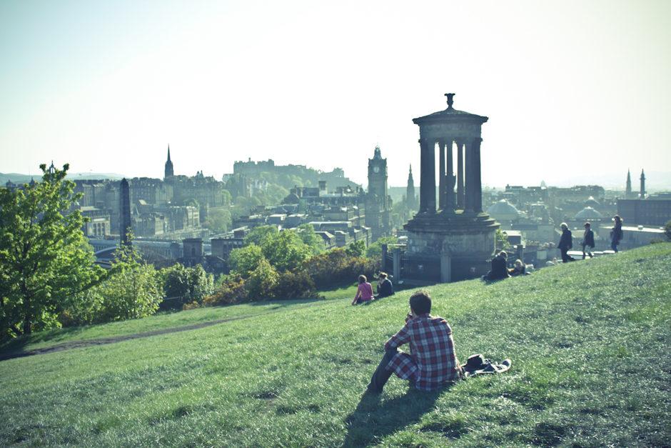 Sur les hauteurs d'Edinburgh