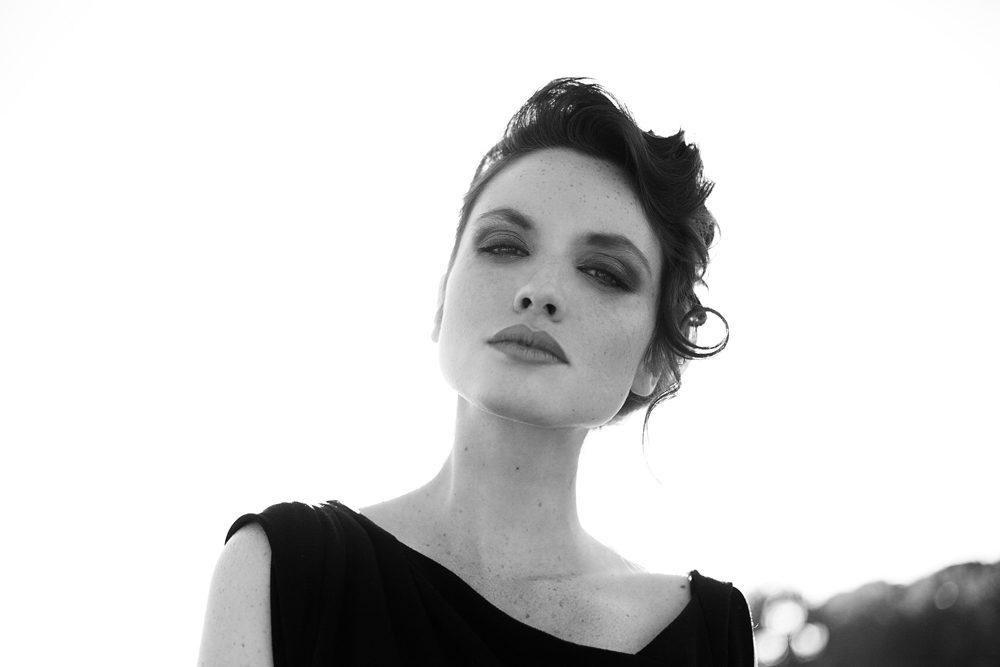 Anne Sophie (MUA : MademoiselleMu / H : Sophie Haise)