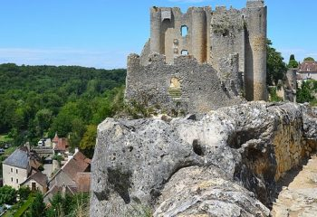 Château d'Angles-sur-Anglin (Vienne-86)