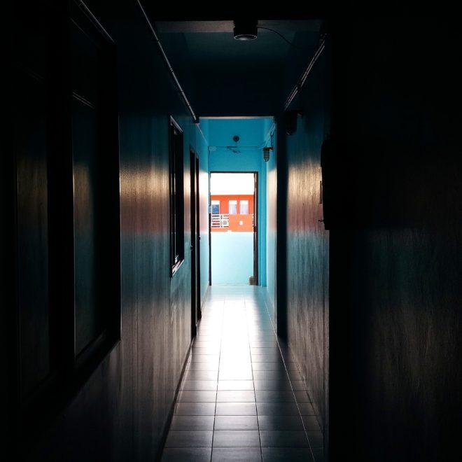 The corridor of the shadows