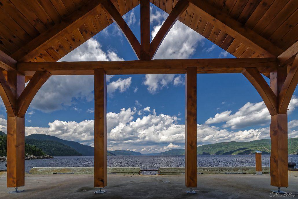 Fenêtre sur fjord