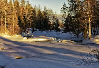 Lumière hivernale